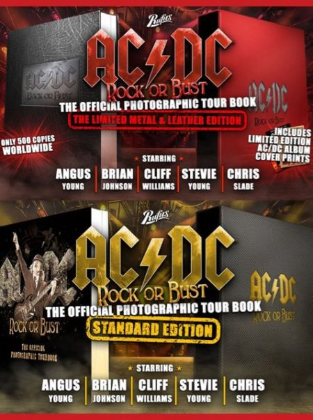 Rock Or Bust Tour Book