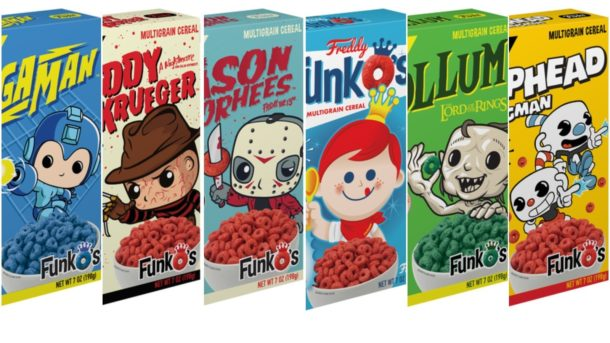 Funko Cereals Coming This Summer With Awesome Prizes Inside